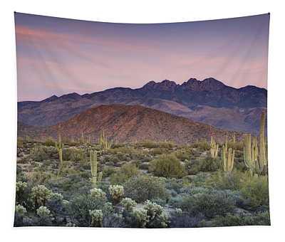 A Desert Sunset  Tapestry