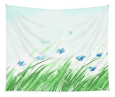 April Shower Tapestry