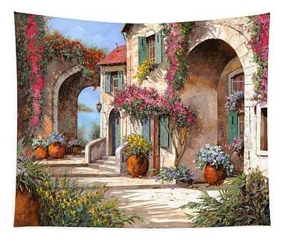 Archi E Fiori Tapestry