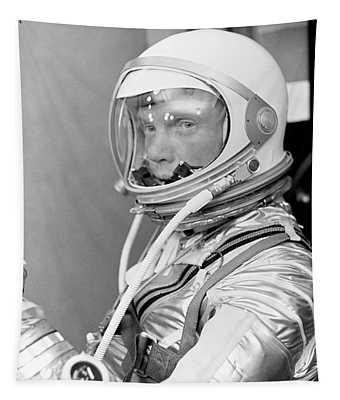 Astronaut John Glenn - Mercury Atlas 6 Tapestry