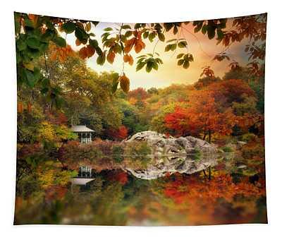 Autumn At Hernshead Tapestry