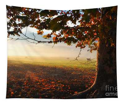 Autumn Tree Tapestry