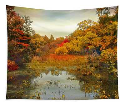 Autumn Wetlands Tapestry