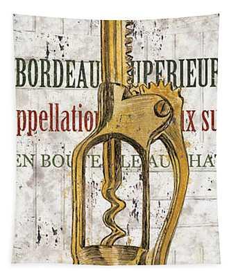 Bordeaux Blanc 2 Tapestry
