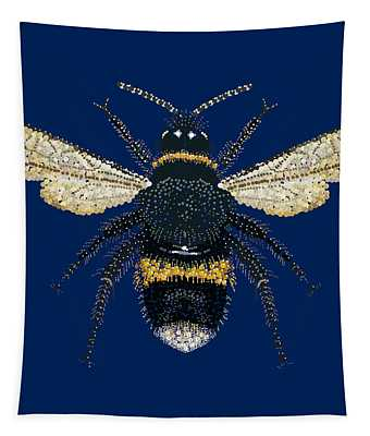Bumblebee Bedazzled Tapestry
