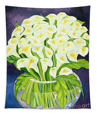 Calla Lilies Tapestry