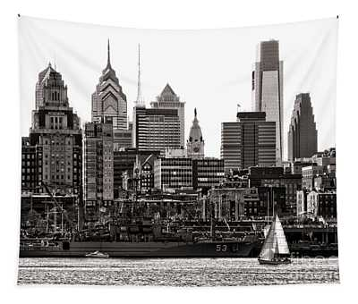 Center City Philadelphia Tapestry