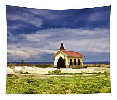 Chapel By The Sea Tapestry