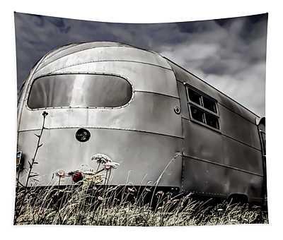Caravan Photographs Wall Tapestries