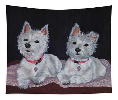 2 Cute Tapestry