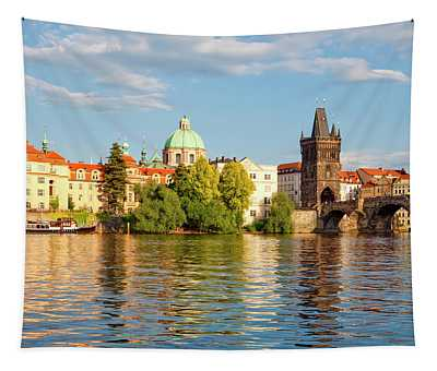 Czech Republic Prague - Charles Bridge Tapestry