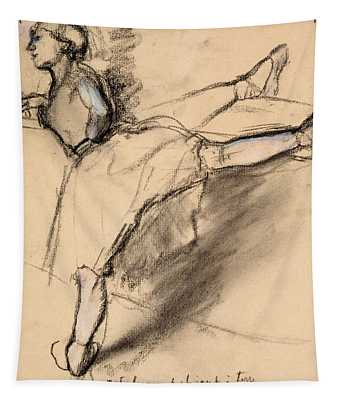 Dancer At The Bar Tapestry
