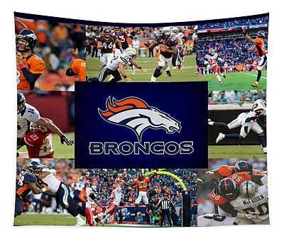 Denver Broncos Tapestry