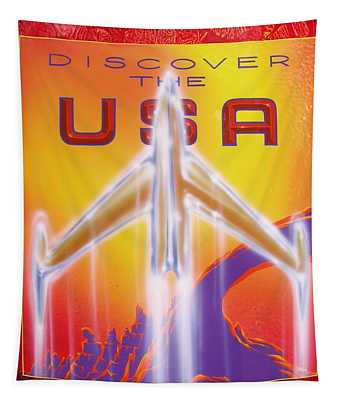 Discover The Usa Tapestry