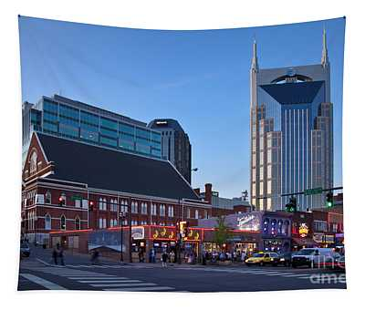 Downtown Nashville Tapestry
