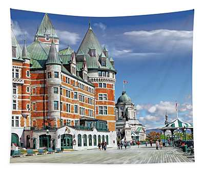 Fairmont Le Chateau Frontenac Series 01 Tapestry