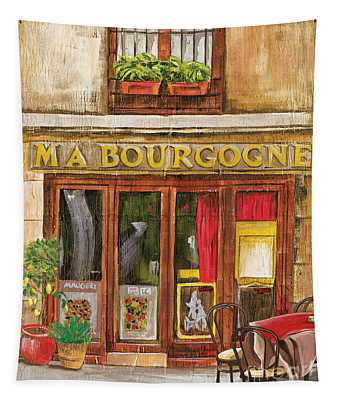 French Storefront 1 Tapestry