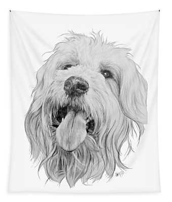 Goldendoodle Tapestry