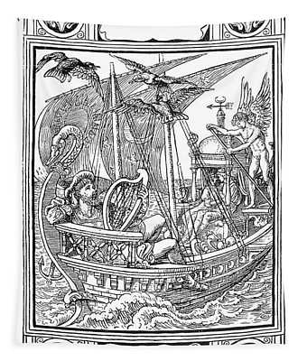 Grimm Faithful John Tapestry