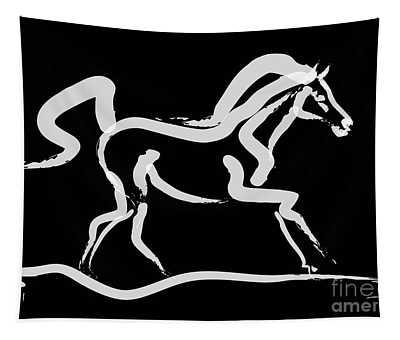 Horse-runner Tapestry