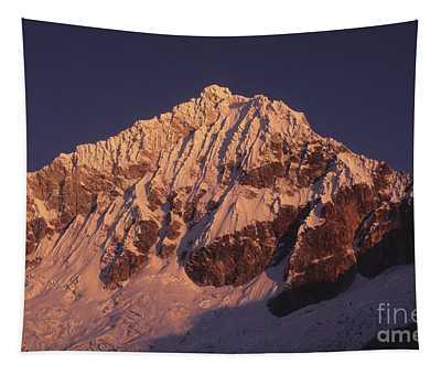 Mt Huandoy Sunrise Peru Tapestry