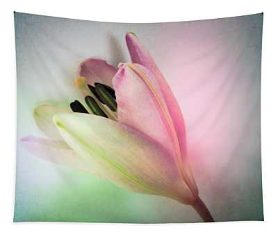 Lily In My Dreams Tapestry