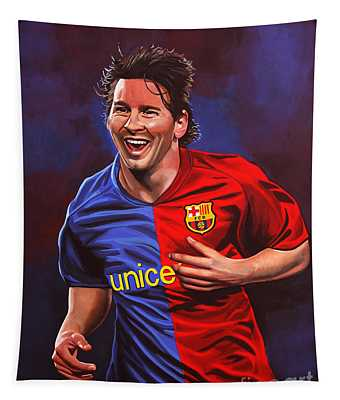 Lionel Messi  Tapestry