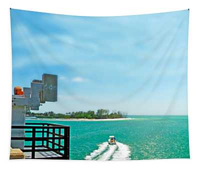 Longboat Pass Drawbridge Tapestry