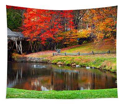 Mabry Mill Pano Tapestry