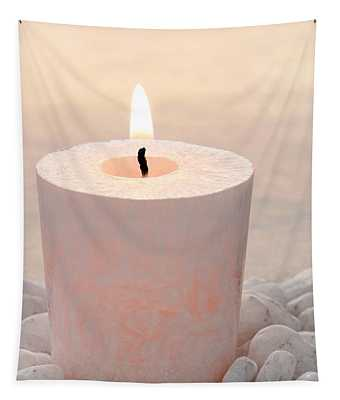 Memorial Candle Tapestry