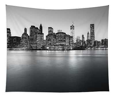 New York City Skyline Tapestry