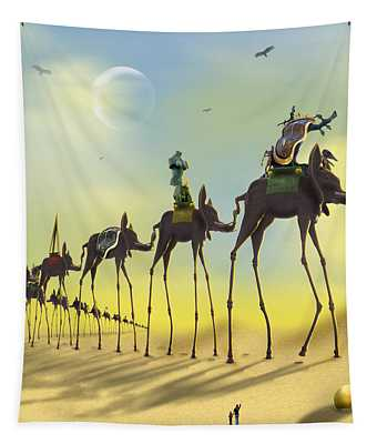 On The Move Tapestry