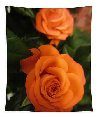 Orange Delight Tapestry