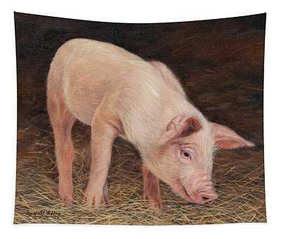 Pig Tapestry