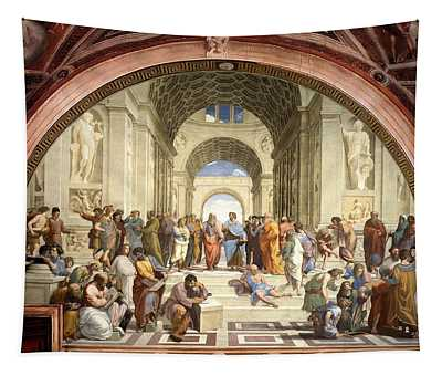 School Of Athens Tapestry