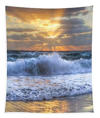 Splash Sunrise Tapestry