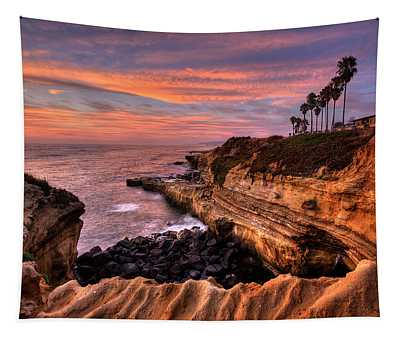 Sunset Cliffs Tapestry