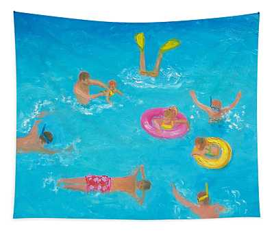 The Swimmers Tapestry