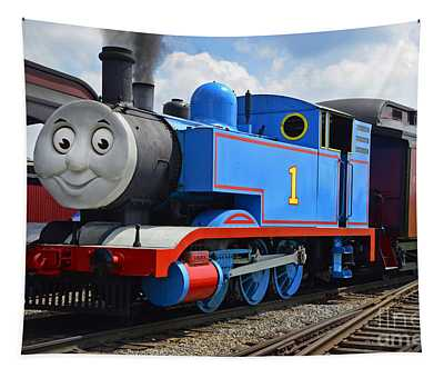 Thomas The Engine Tapestry