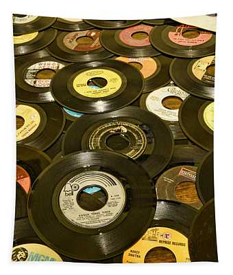 Those Old 45s Tapestry