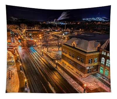 Wausau After Dark Tapestry