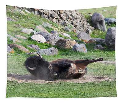 Yellowstone Bison Tapestry