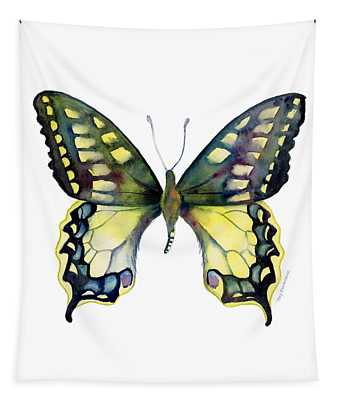20 Old World Swallowtail Butterfly Tapestry