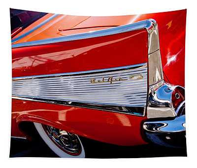 1957 Chevy Bel Air Custom Hot Rod Tapestry