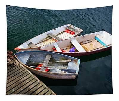 3 Boats Tapestry