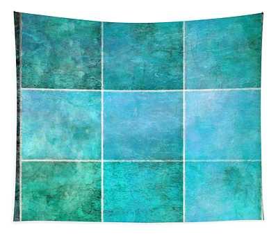 3 By 3 Ocean Tapestry