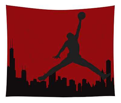 Chicago Bulls Tapestry