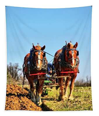 Down On The Farm Tapestry