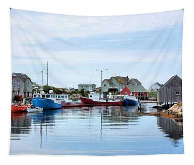 Peggys Cove Tapestry