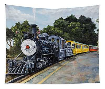 Sugar Cane Train Tapestry